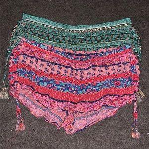 Women's beach shorts